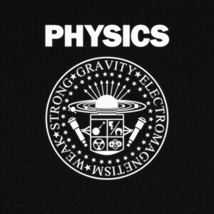 T-shirt Physics Rocks