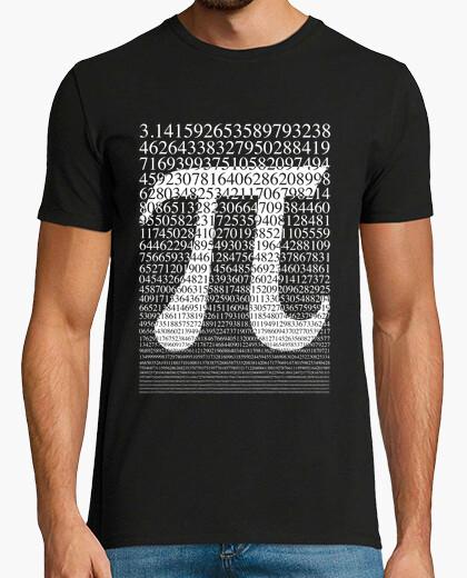 T-shirt pi bianco