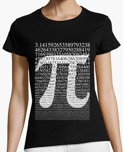 Camiseta Pi blanco
