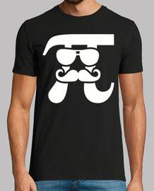 pi moustache