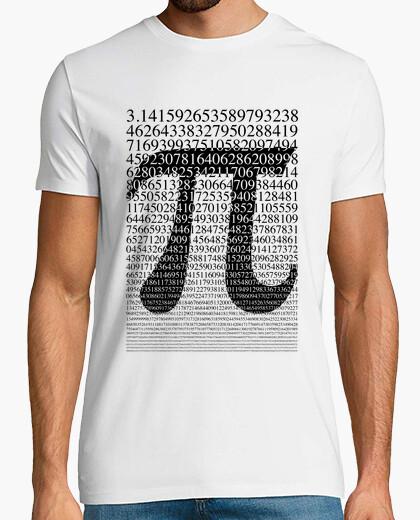 Camiseta Pi negro