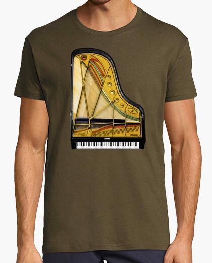 Camiseta Piano de Cola - marron - chico