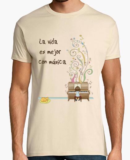 Camiseta Piano magic