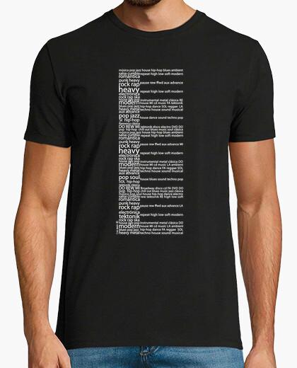 T-shirt pianoforte