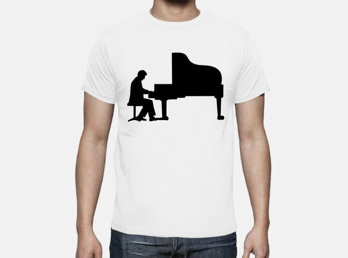 it Pianista T 1219298Tostadora Shirt Pianoforte AjL54R3