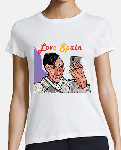 Picasso Selfie Love Spain