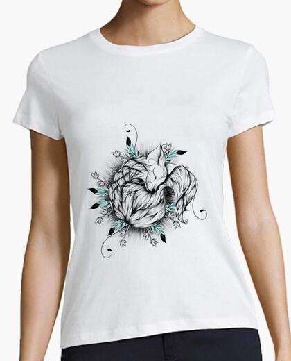 T-shirt piccola volpe