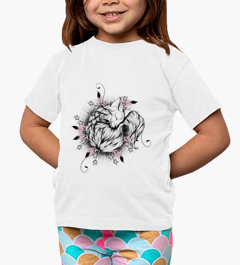 Abbigliamento bambino piccola volpe rosa version