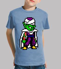 Piccolo 8bit (Camiseta Niño)