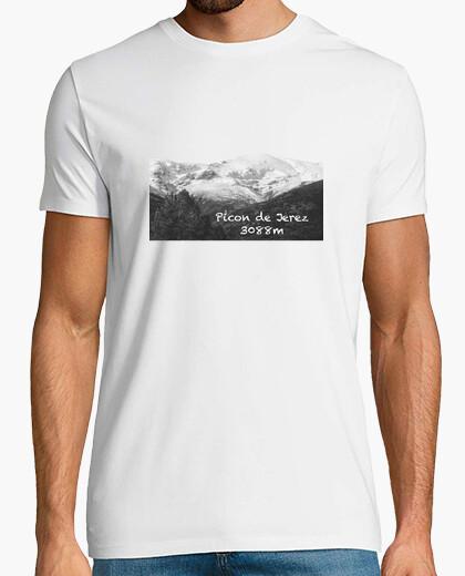 Camiseta Picon Hombre, manga corta, blanco, calidad extra