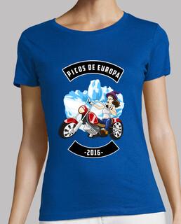 Picos de Europa 2016 F (Camiseta Mujer)