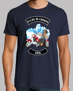 Picos de Europa 2016 M (Camiseta Hombre)