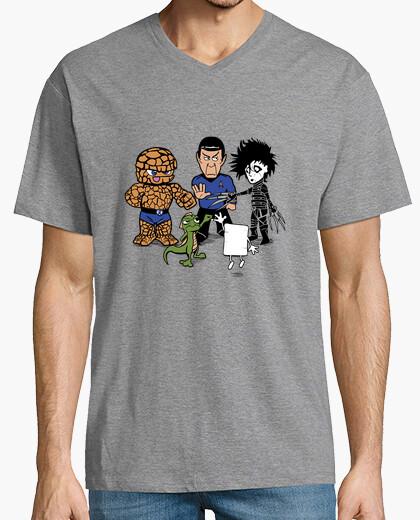 Camiseta Piedra, Papel,  Tijera ...