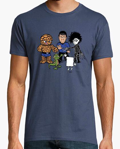 Camiseta Piedra, Papel, Tijera...