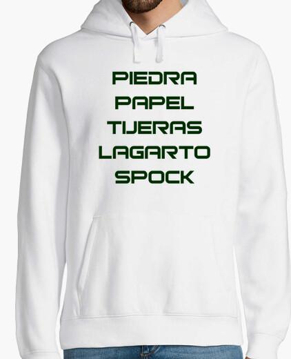 Jersey Piedra papel tijeras lagarto Spock
