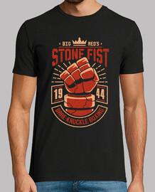 piedra puño boxeo
