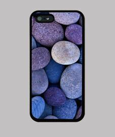 Piedras moradas