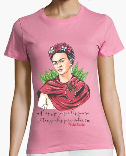 Tee-shirt pieds frida kahlo, pourquoi ..?