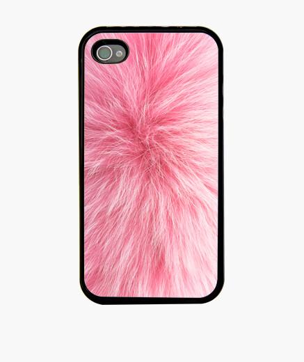 Funda iPhone piel de color rosa