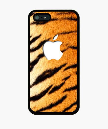 Funda iPhone Piel de tigre 5-5S