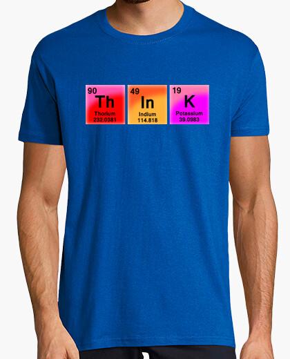 Camiseta Piensa, piensa...