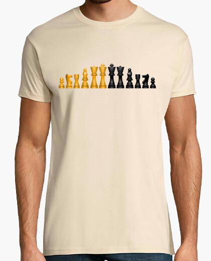 Camiseta PIezas de Ajedrez