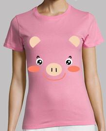 pig faccia -baby-