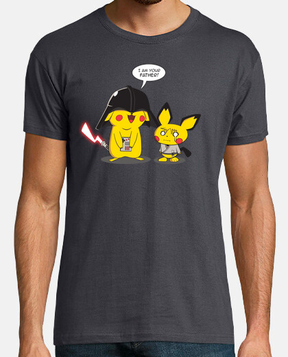 Pika Vader Strikes Back - Man T-Shirt