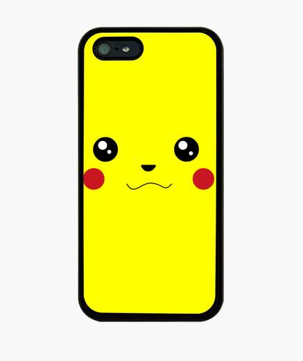 Coque iPhone pikachu-face
