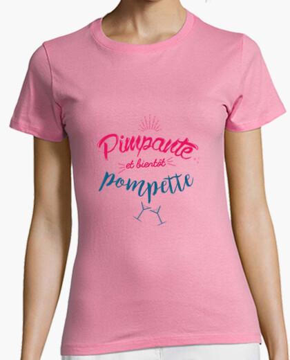 Tee-shirt Pimpantes et Pompettes