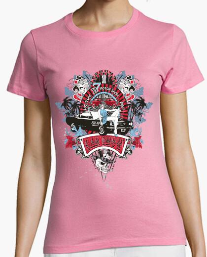 Camiseta Pin-Up Chica - Car Show No.02