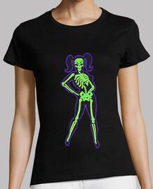 Pin-Up skeleton girl