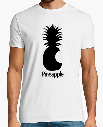 Tee-shirt pin apple ananas mordu ( apple parodiqu