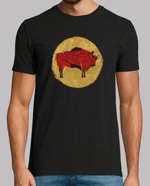 pin tura rupestre bisonte altamira