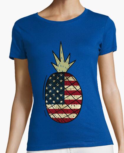 Camiseta Piña Bandera America / USA / EEUU