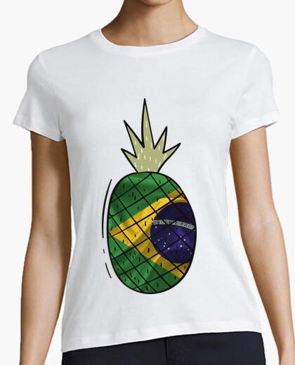 Camiseta Piña Bandera Brasil