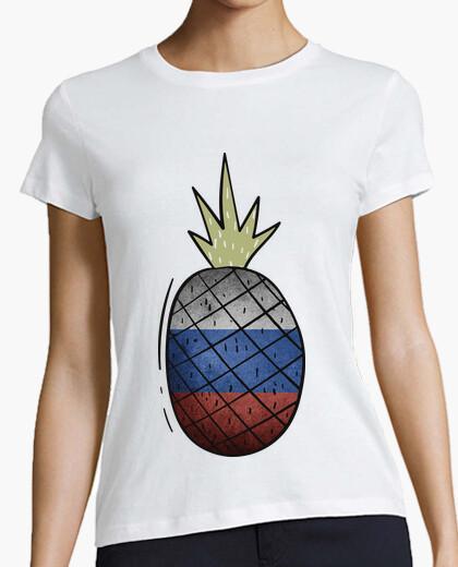 Camiseta Piña Bandera Rusia