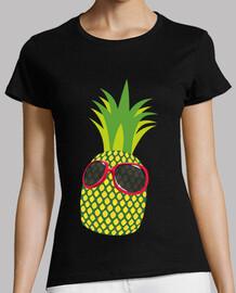 Piña con Gafas de Sol