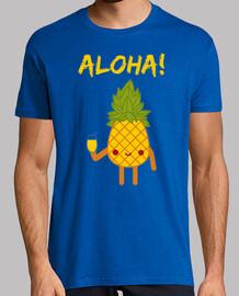 Piña en la Playa Aloha! diseño para regalo