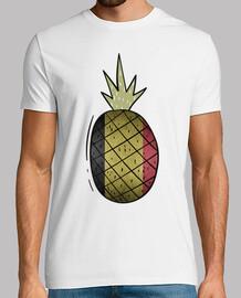 pineapple belgian flag