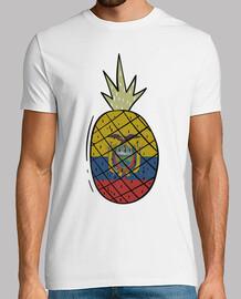 pineapple flag ecuador