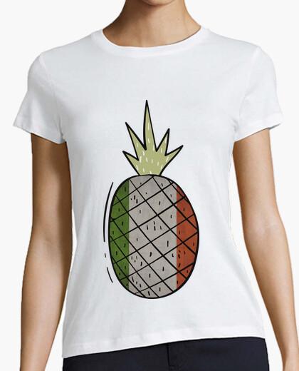 Pineapple flag italy t-shirt