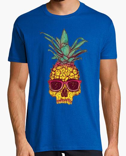 Camiseta Pineapple skull tattoo