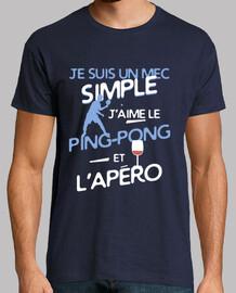 Ping-pong - un mec simple