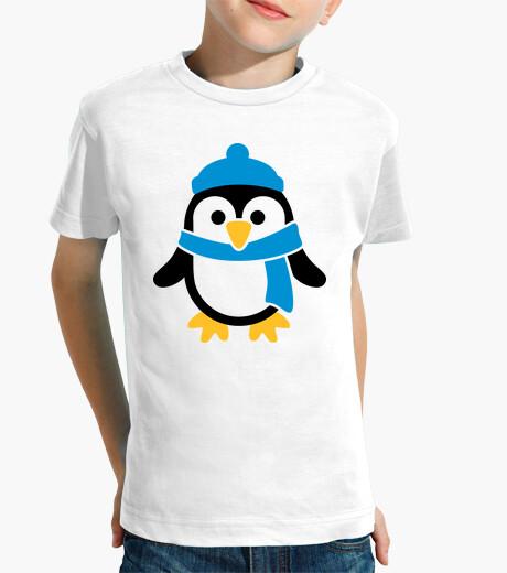 Vêtements enfant pingouin foulard d'hiver