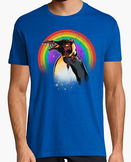 Tee-shirt pingouin zombie