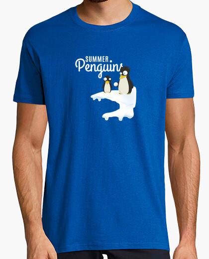 Tee-shirt pingouins d'été