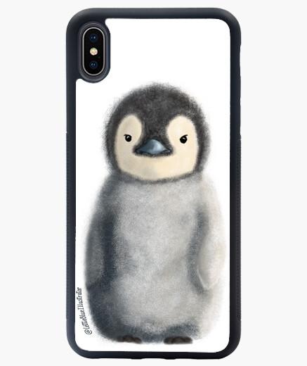 Cover iPhone XS Max pinguino