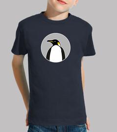Pingüino - camiseta manga corta infantil