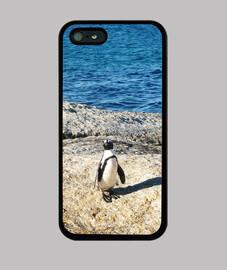 Pingüino - iPhone 5 / 5s, negra